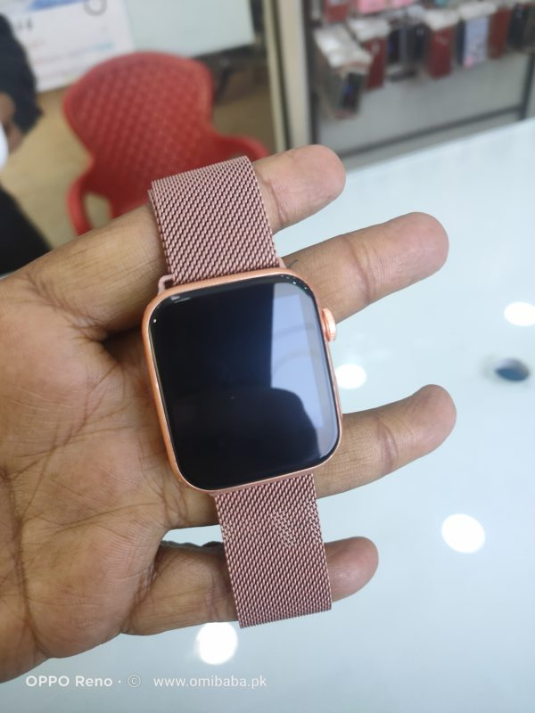 T500 Smart Watch With Two Straps Silicone and Chain