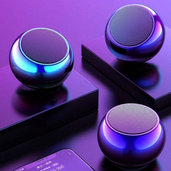 Multi-color m3 mini speaker wireless Bluetooth support loud voice high-quality metal speakers - Deal Plus